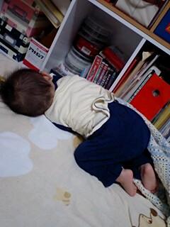 寝相悪い(^^ゞ