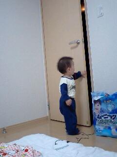 戸を閉めた