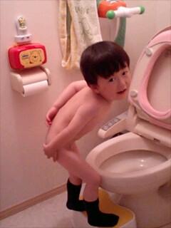 トイレなんですの