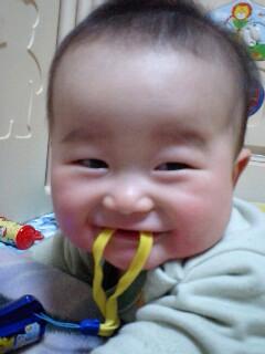 ちょ〜笑顔(^_^)
