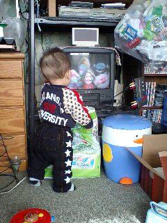 テレビ大好きっ子